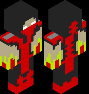 minecraft warlock skin