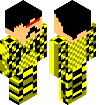 The bumble bee | Minecraft Skins Pro