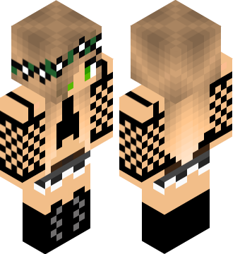 Tomboy Girl Minecraft Skins Pro