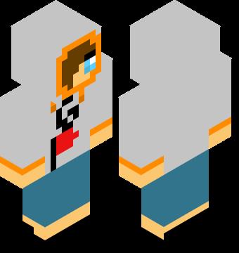 6 Flags Hoodie Girl Minecraft Skins Pro