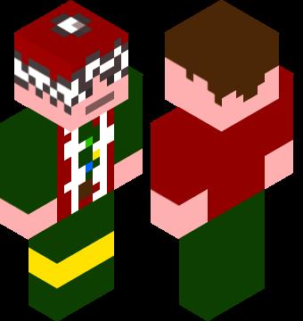 christmas minecraft skins
